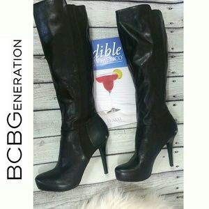 BCBGeneration Sexy Knee high women's boots leather